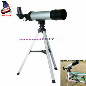 60x-Space-Scope-Refractor-Astronomical-Refractive-Monocular-Telescope-w-Tripod