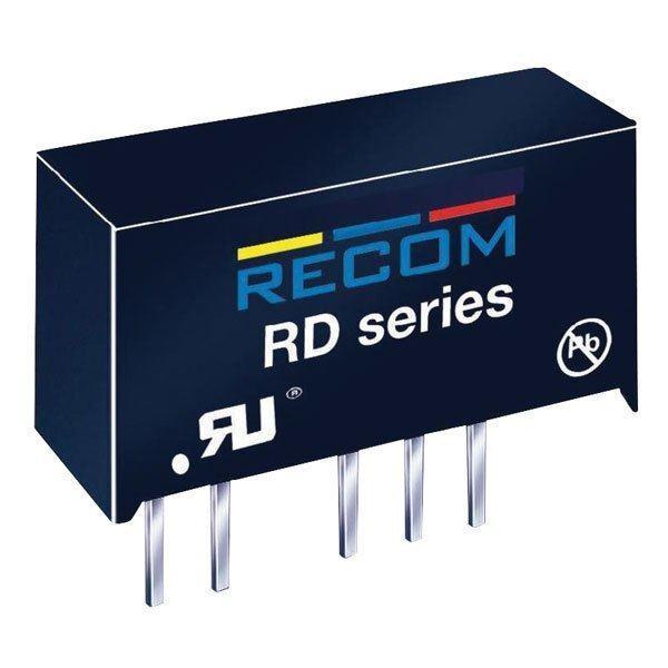 Recom 10000216 RD-0515D Dc/Dc Wandler 5V Pin 15V/15V Aus