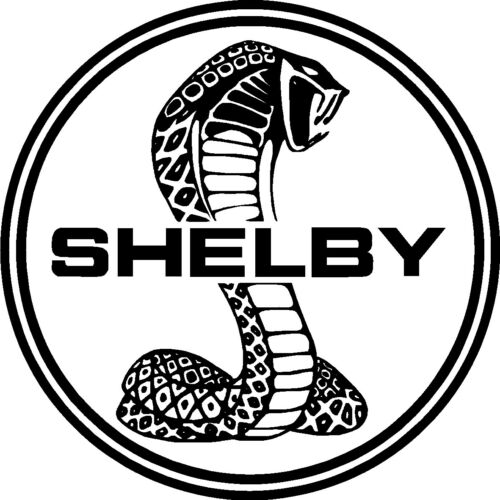 2 X SHELBY STICKERS SIGNS