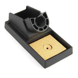 metal soldering iron gun stand holder support station base sponge ebay. Black Bedroom Furniture Sets. Home Design Ideas