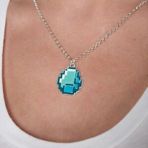 Minecraft-Diamond-Pendant-Necklace