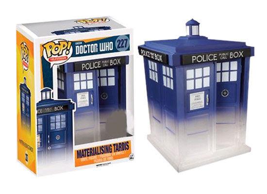 "Doctor Who - Materialising TARDIS 6"" Super Sized Pop! Vinyl Figure"