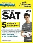 Cracking the SAT with 5 Practice Tests: 2021 by Princeton Review (Paperback, 2014)