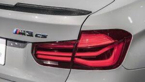 Genuine Bmw M3 Cs Shadowline Blackline Led Lci Rear Tail Lights F30