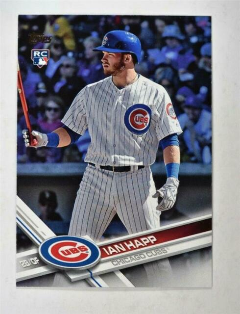 2017 Topps Update Series Gold #US10 Ian Happ Chicago Cubs Rookie Baseball Card