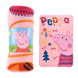 Coperta Peppa Pig.Detalles De Peppa Pig Plaid Originale Coperta In Pile Cm 100x150 Calda Invernale