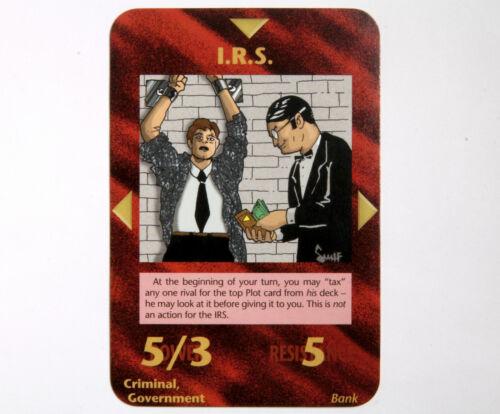 1995 ILLUMINATI LIMITED EDITION INWO CARD GAME SELECT MEGA LISTING 1//2 OOP CCG