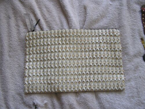 Vintage Plastic Flex  PlasticFlex Clutch Purse Ha