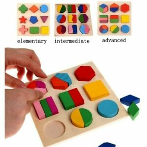 Educational-Puzzle-Sets-Wooden-Geometry-Wood-Toys-For-Baby-Kids-Early-Learning