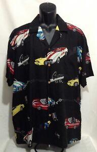 1ac61129cd9b Image is loading Paradise-Found-Vintage-SS-Hawaiian-Shirt-Chevrolet-Camaro-