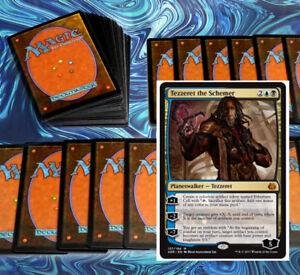 mtg-BLACK-BLUE-ARTIFACTS-DECK-Magic-the-Gathering-rares-60-cards-tezzeret-KAL