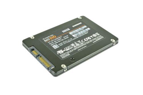 "Solid State Drive Samsung 860 EVO MZ-76E500B//AM 500GB 2.5/"" SATA III SSD V-NAND"