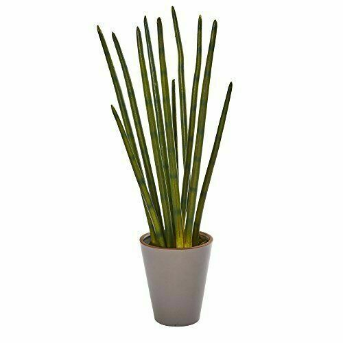 Nearly Natural 24 Bamboo Shoot Artificial Plant In Decorative Planter For Sale Online Ebay