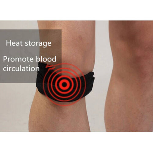 Adjustable Sport Gym Patella Tendon Knee Support Strap Brace-Pad Band Protector+