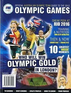 OFFICIAL-AUSTRALIAN-OLYMPIC-TEAM-Guide-To-the-2012-London-Olympic-Games