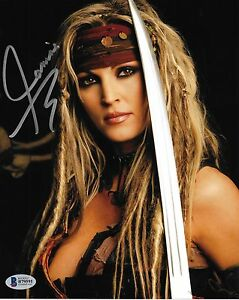 Image Is Loading Janine Lindemulder Signed X Photo Bas Beckett Coa