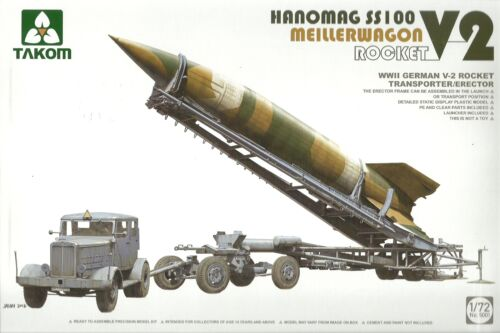 TAKOM 1//72 Hanomag SS100 meillerwagen /& Fusée V2