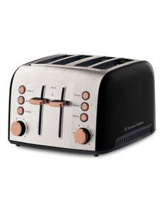 Russell Hobbs Brooklyn 4-Slice Toaster Copper RHT94COP