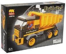 Dump Truck BricTek Building Block Set-142 Pieces