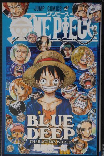 Eiichiro Oda JAPAN One Piece Blue Deep Characters World