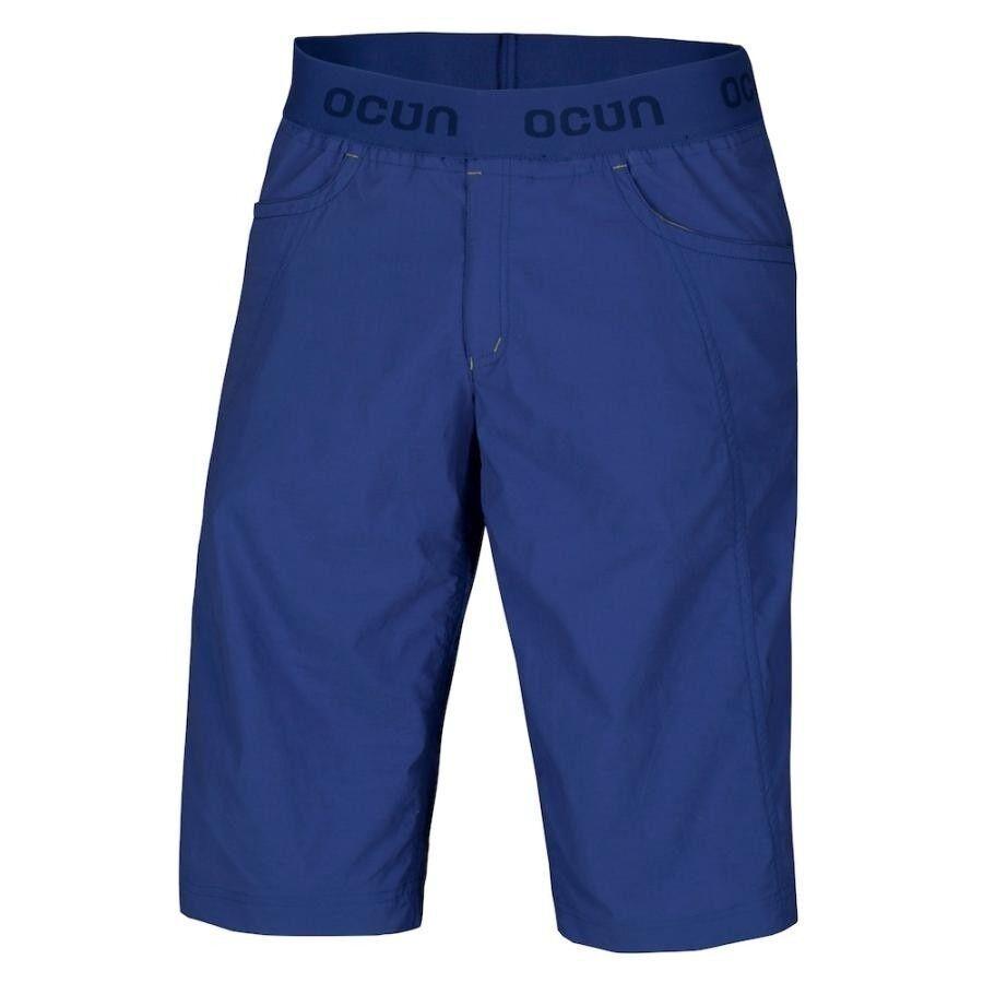 Ocun Mania Shorts Men,Pantalón Corto de Escalada para Hombre,Night azul,Talla XL