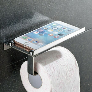 Toilet-Tissue-Holder-Roll-Papers-Stand-Storage-Dispensers-Wall-Mounted-Bathroom