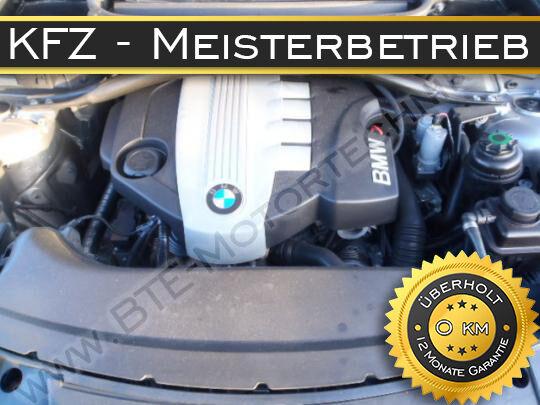 BMW X3 E83 130kW 177PS N47D20A N47D20C XDRIVE20D MOTORÜBERHOLUNG REPARATUR!!!!