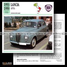 #085.12 LANCIA APPIA V4 (1953-1959) - Fiche Auto Classic Car card