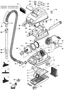 Miele S500 Amp S600 Series Parts From Working Model S514