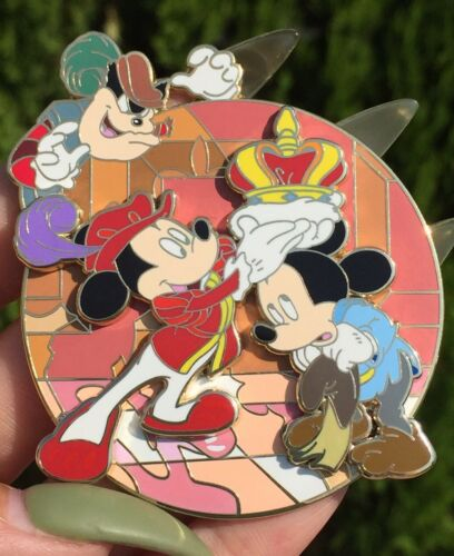 Mickey Prince and Pauper Fantasy Tales Inspired Disney limited pin 33