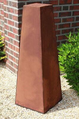 XL konische Rost Säule RS81 Rostsäulen  Rostdeko Rostsäule