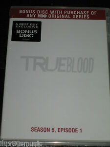 TRUE BLOOD - Season 5, Episode 1 - PROMO DVD BONUS DISC - BEST BUY ONLY! HBO