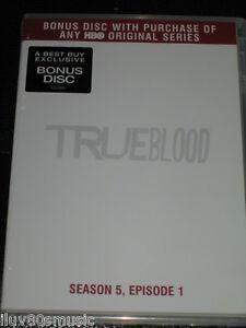TRUE BLOOD - Season 5, Episode 1 - PROMO DVD BONUS DISC - BEST BUY ONLY! HBO