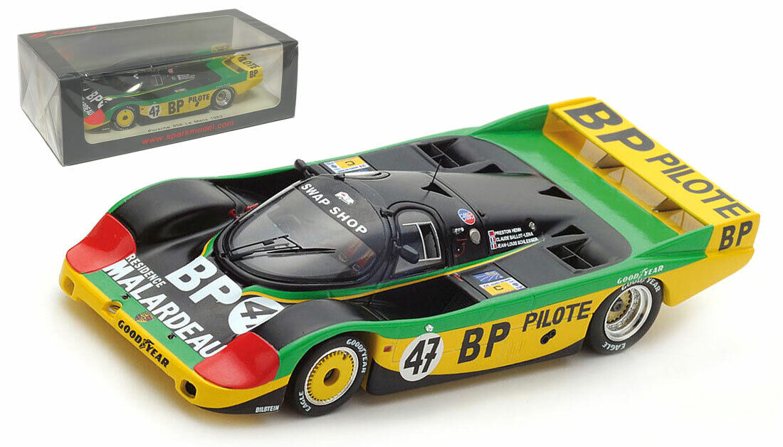 SPARK S7503 PORSCHE 956  47 Le  Mans 1983-Henn Ballot-Lena SCHLESSER échelle 1 43  acheter une marque