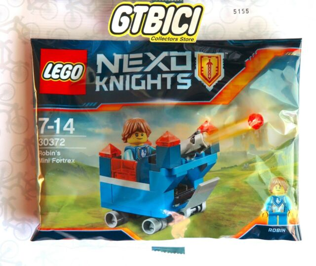 LEGO NEXO KNIGHTS POLYBAG ROBIN´S MINI FORTREX  MINIFIGURA   Ref 30372  NUEVO