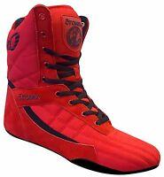 Otomix Pro Tko Super Hi Pro Boxer Men's Boxing Shoes (red)