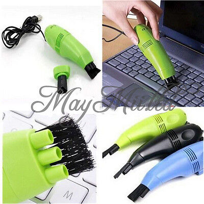 New Mini USB Vacuum Keyboard Cleaner Dust Collector LAPTOP Computer Sales