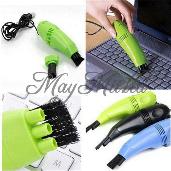 New Mini USB Vacuum Keyboard Cleaner Dust Collector LAPTOP Computer Sales J