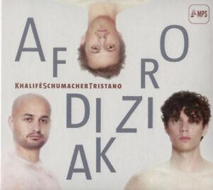 Khalifeschumachertristano Afrodiziak (2015) 10-trk CD Album Neu / Verpackt Mps
