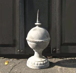 Lightning-Rod-50cm-Reproduction-Architectural-Cast-iron-Lead-Coloring