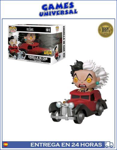 Funko Pop Disney Villains Cruella in Car Hot Topic Exclusive