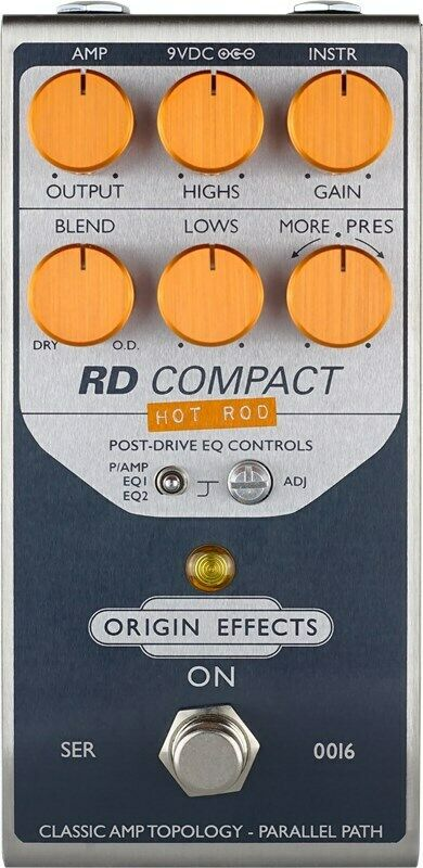 Origin Effects RD Compact Hot Rod Overdrive Pedal