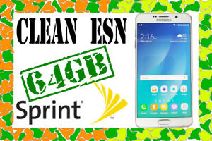 Details about Samsung Galaxy Note 5✓ SM-N920P✓ 64GB✓ White Pearl✓ Sprint✓  CLEAN ESN✓ AS IS✓