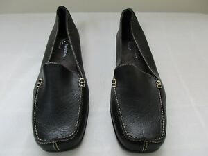 New-Women-039-s-A2-by-Aerosoles-Gondola-Loafers-Slip-On-Shoes-Black-Medium-Width-61B