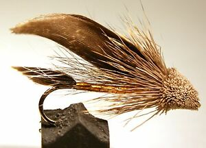 ICE-FLIES-Streamer-fly-Muddler-brown-Size-2-4-6-8-and-10-3-pack