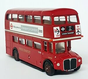 EFE-1-76-Scale-15628A-AEC-Routemaster-Farewell-London-Transport-Diecast-Bus