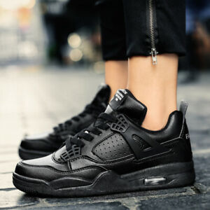 Women-039-s-Leather-Sneakers-Air-Athletic-Running-Shoes-Gym-Jogging-Tennis-Fitness