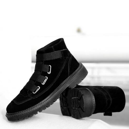 HOMME CROIX en daim Fastener Casual Confort Extérieur Marche Randonnée Fashion Chaussures
