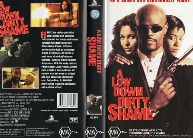 A Low Down Dirty Shame Vhs New Pal Never Played