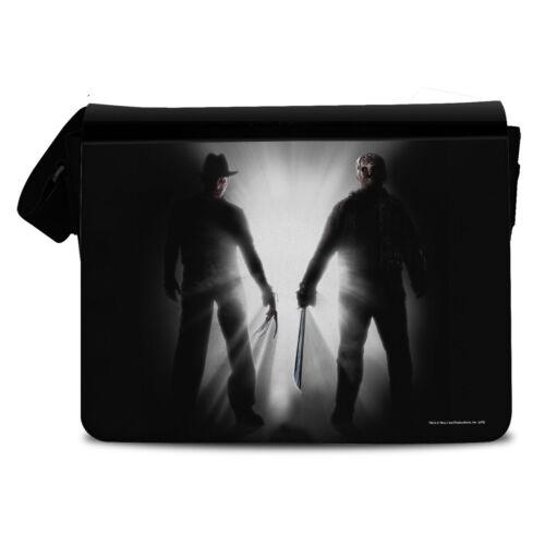 Officially Licensed Merchandise Freddy vs Jason Messenger Bag